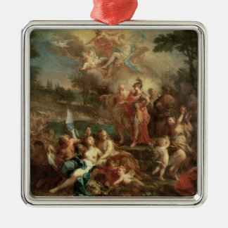 The Vision of Aeneas in the Elysian Fields Christmas Ornament