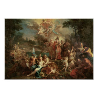The Vision of Aeneas in the Elysian Fields Print