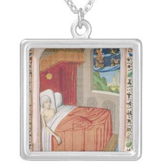 The Vision of Ezekiel Square Pendant Necklace