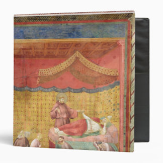The Vision of Pope Gregory IX  1297-99 3 Ring Binder