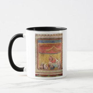 The Vision of Pope Gregory IX  1297-99 Mug