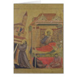 The Vision of Pope Innocent III, c.1295-1300 Card