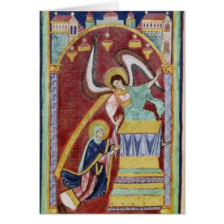 The Vision of St. Aldegondius Card
