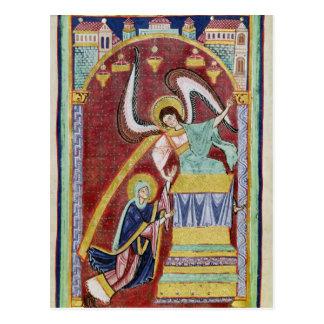 The Vision of St. Aldegondius Post Card