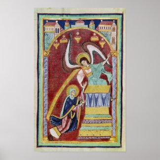 The Vision of St. Aldegondius Print