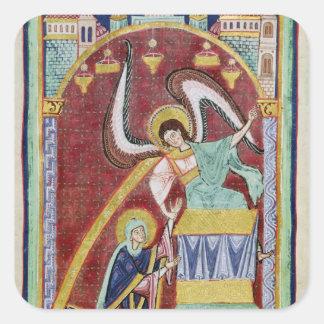 The Vision of St. Aldegondius Sticker