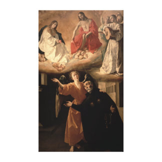 The Vision of St. Alphonsus Rodriguez Canvas Print