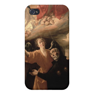 The Vision of St. Alphonsus Rodriguez iPhone 4/4S Cases