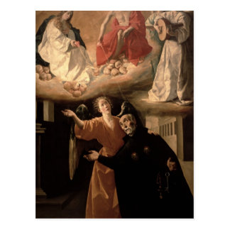The Vision of St. Alphonsus Rodriguez Post Cards