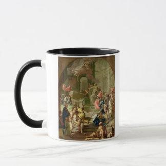 The Vision of St. Benedict, c.1760 Mug