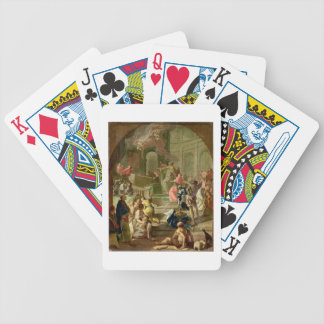 The Vision of St. Benedict, c.1760 Poker Cards