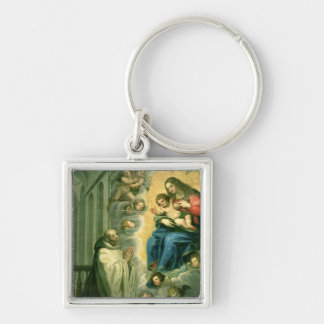 The Vision of St. Bernard, 1634 Key Chains