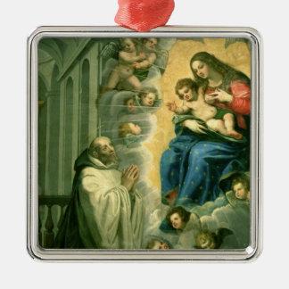 The Vision of St. Bernard, 1634 Metal Ornament