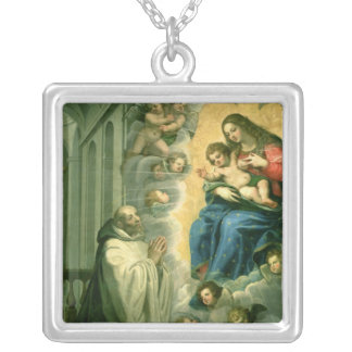 The Vision of St. Bernard, 1634 Necklace