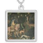 The Vision of St. Eustachius, c.1438-42 Custom Necklace