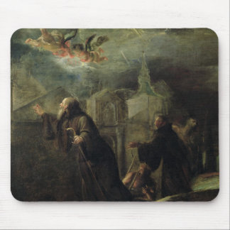 The Vision of St. Francis of Paola Mouse Pad