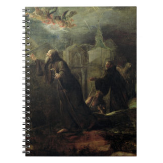 The Vision of St. Francis of Paola Notebook