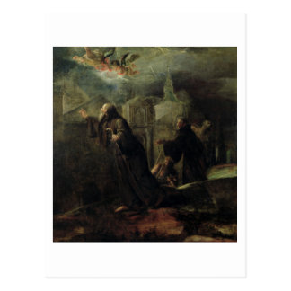 The Vision of St. Francis of Paola Postcard