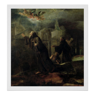 The Vision of St. Francis of Paola Posters