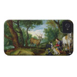 The Vision of St. Hubert, c.1620 (oil on panel) iPhone 4 Case