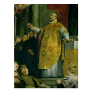 The Vision of St. Ignatius of Loyola Postcard