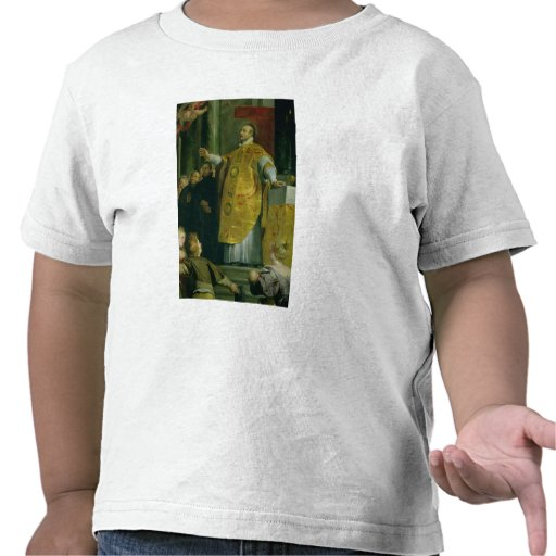 The Vision of St. Ignatius of Loyola T Shirt