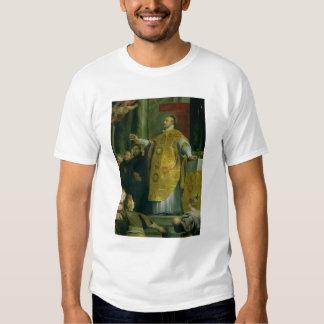 The Vision of St. Ignatius of Loyola Tshirt