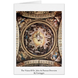 The Vision Of St. John At Patmos Overview Greeting Card
