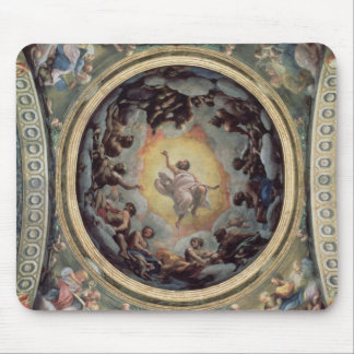 The Vision of St. John on Patmos, 1520-23 (fresco) Mouse Pad