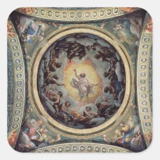 The Vision of St. John on Patmos, 1520-23 (fresco) Stickers