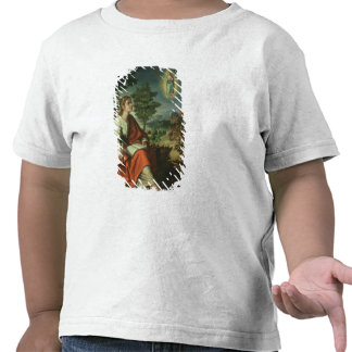 The Vision of St. John the Evangelist on Patmos T Shirt