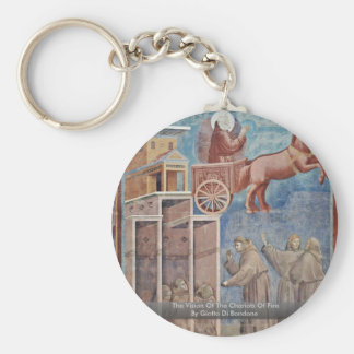 The Vision Of The Chariots Of Fire Keychain