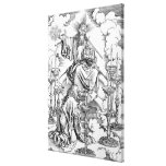 The Vision of The Seven Candlesticks Canvas Print