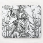 The Vision of The Seven Candlesticks Mouse Pad
