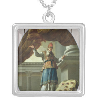 The Vision of Zechariah Silver Plated Necklace