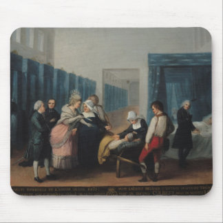 The Visit of Monsieur and Madame Necker Mouse Pad