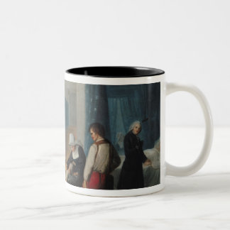 The Visit of Monsieur and Madame Necker Two-Tone Coffee Mug