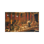 The Visit Of The Queen Of Sheba To King Solomon Canvas Print