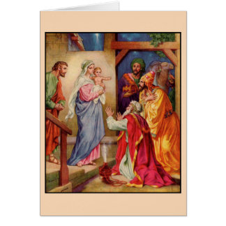 The Visit of the Wise-Men Greeting Card
