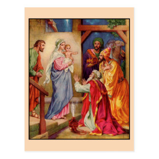 The Visit of the Wise-Men Postcard