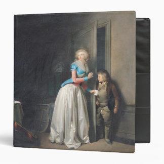 The Visit Received, 1789 3 Ring Binder