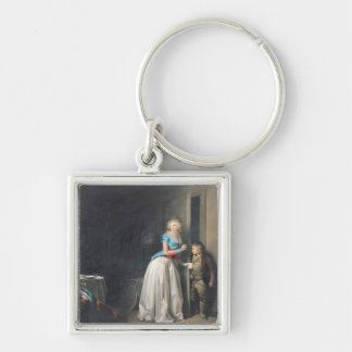 The Visit Received, 1789 Keychain