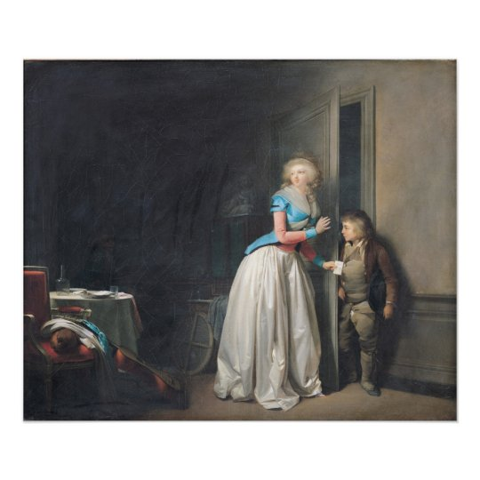 The Visit Received, 1789 Poster