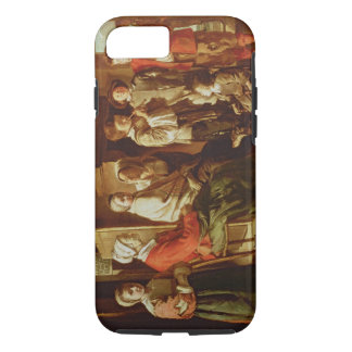 The Visit to the Grandmother (oil on canvas) iPhone 8/7 Case