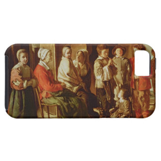 The Visit to the Grandmother (oil on canvas) iPhone SE/5/5s Case