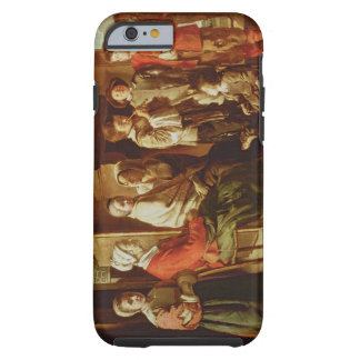 The Visit to the Grandmother (oil on canvas) Tough iPhone 6 Case