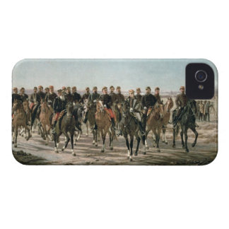 The Visit to the River Negro by General Julio Arge iPhone 4 Covers