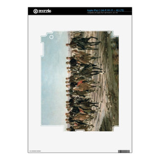 The Visit to the River Negro by General Julio Arge iPad 3 Decals