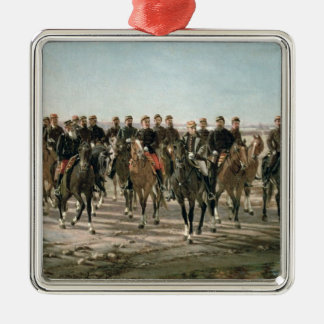 The Visit to the River Negro by General Julio Arge Metal Ornament
