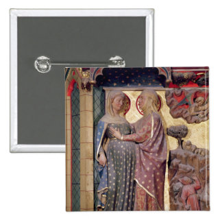 The Visitation, 1340-51 Button